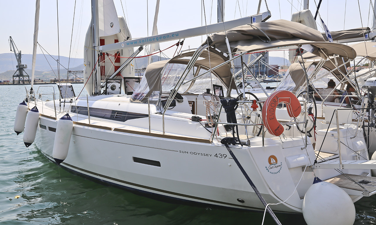EUDORA - Sailing Yacht for Charter in Greece