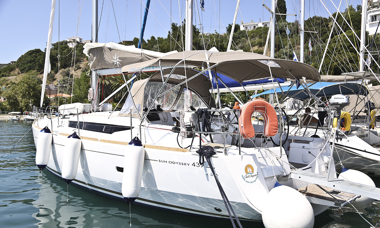 PASITHEA - Sailing Yacht for Charter in Greece