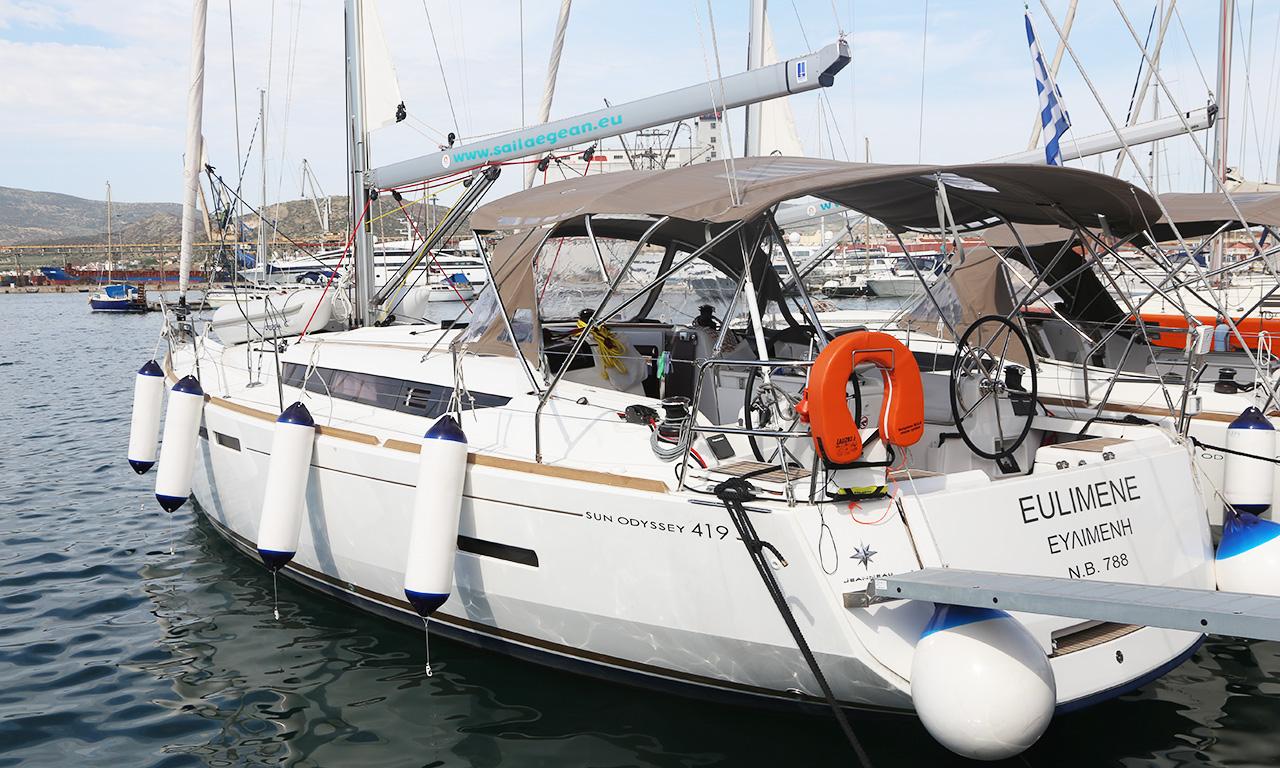 EULIMENE - Sailing Yacht for Charter in Greece
