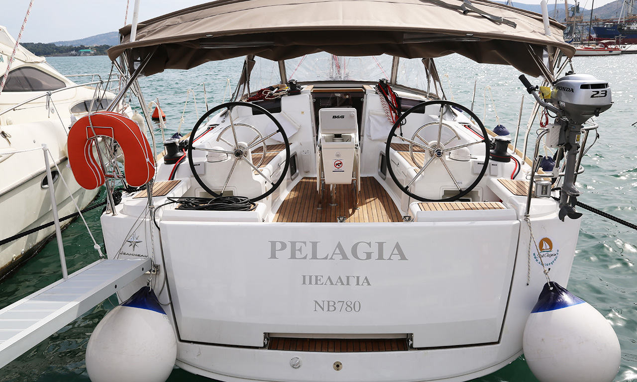 PELAGIA - Sailing Yacht for Charter in Greece