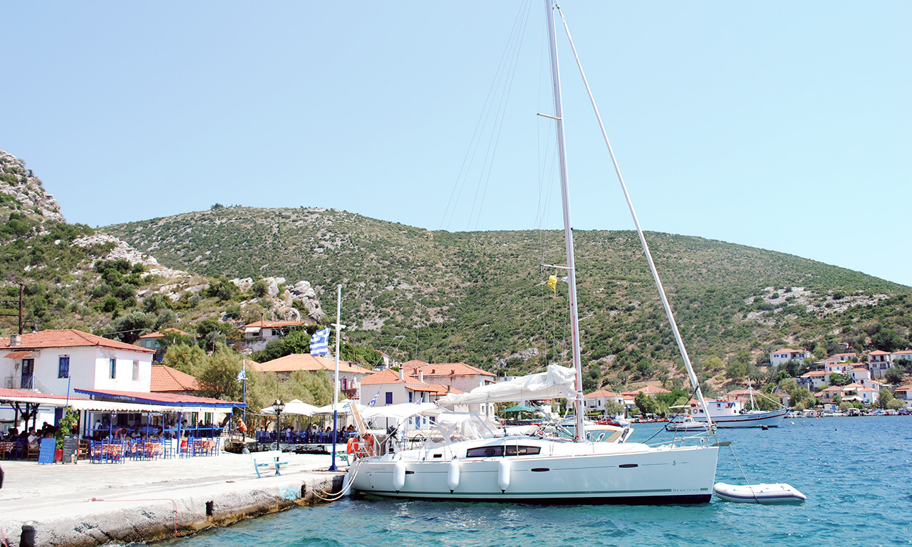 THALASSA - Sailing Yacht for Charter in Greece