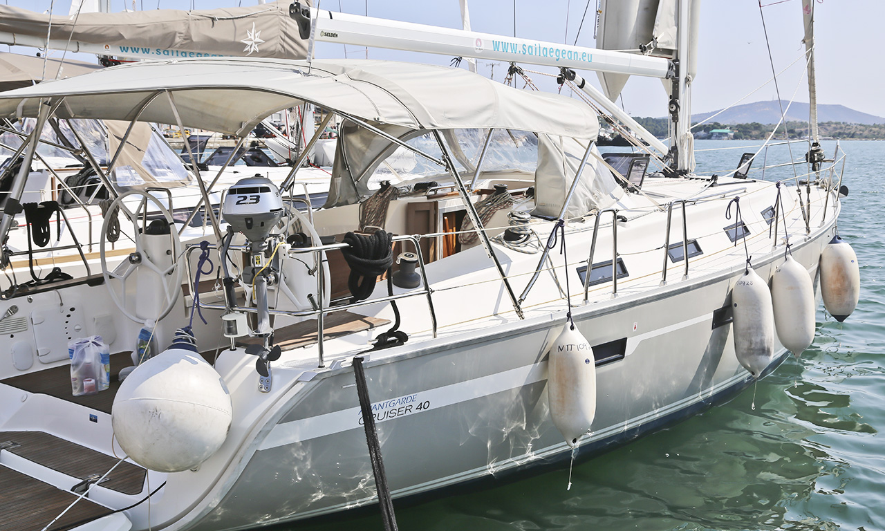 EURYBIA - Sailing Yacht for Charter in Greece