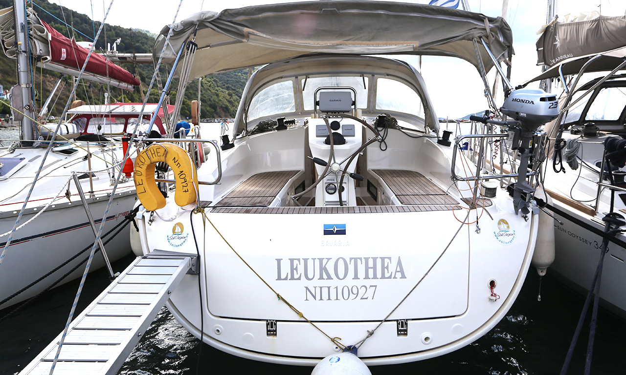 LEUKOTHEA - Sailing Yacht for Charter in Greece