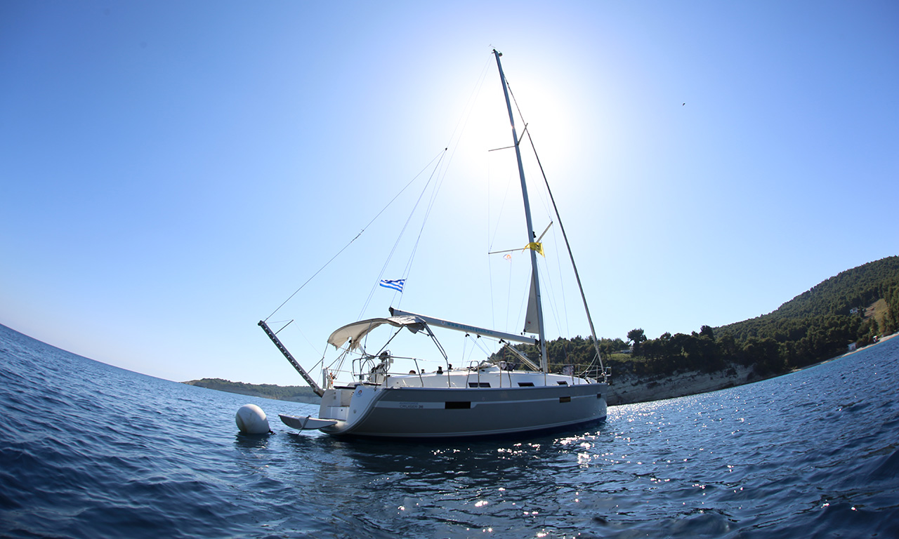 DORIS - Sailing Yacht for Charter in Greece