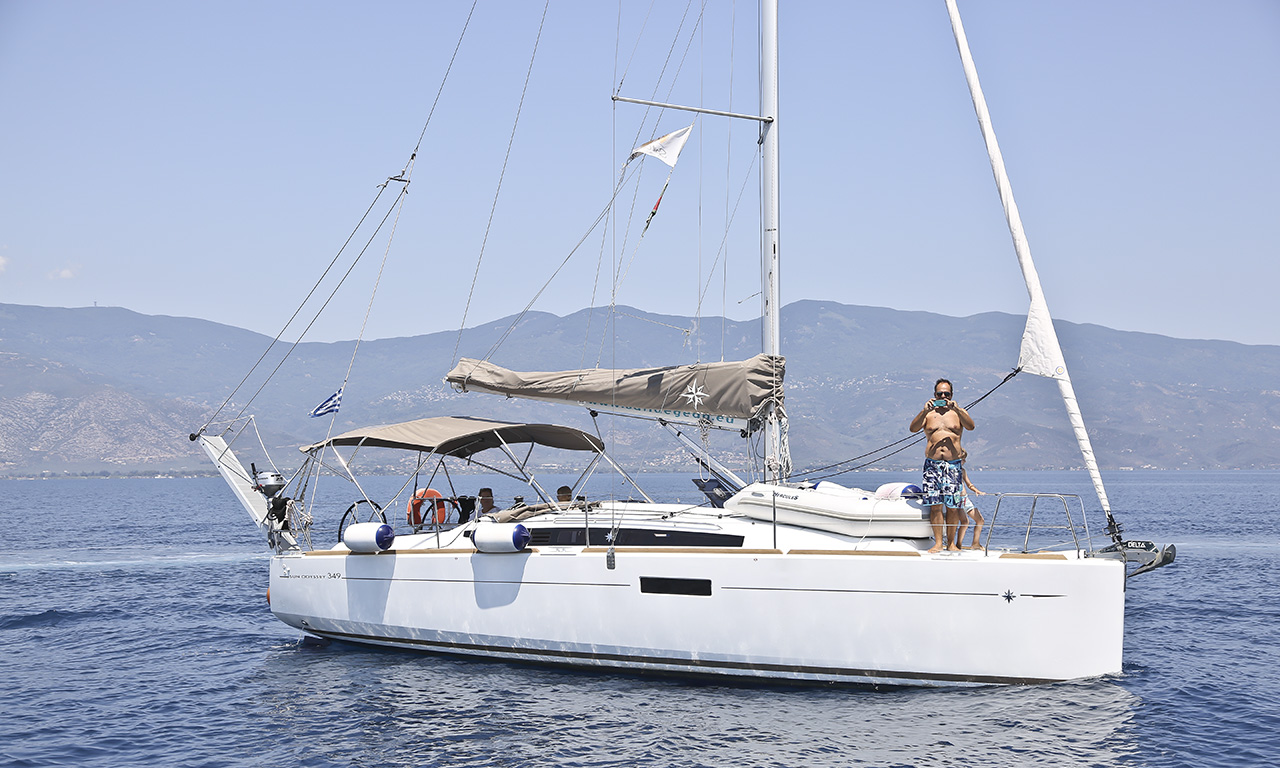 FEROUSA - Sailing Yacht for Charter in Greece