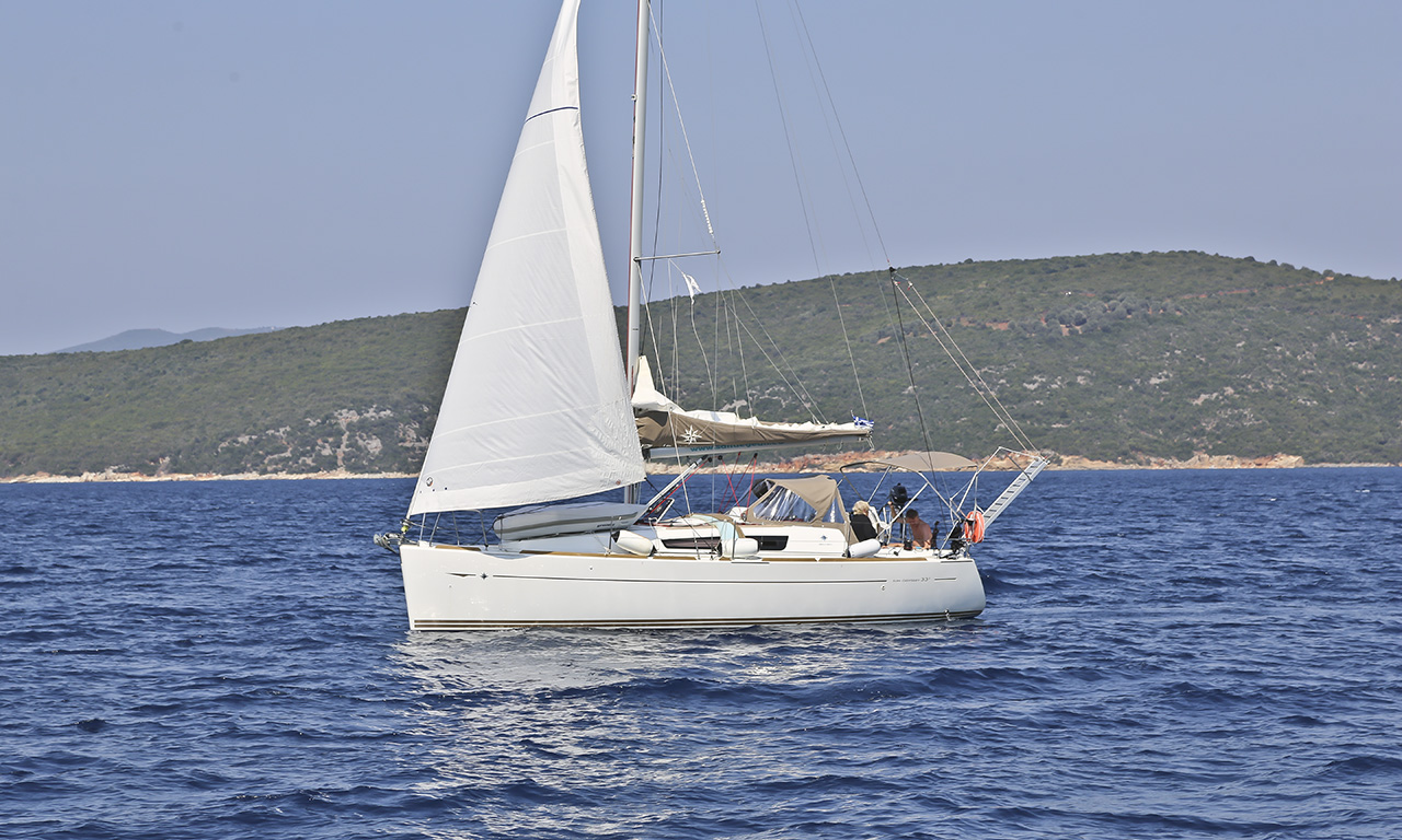 AFROESSA - Sailing Yacht for Charter in Greece