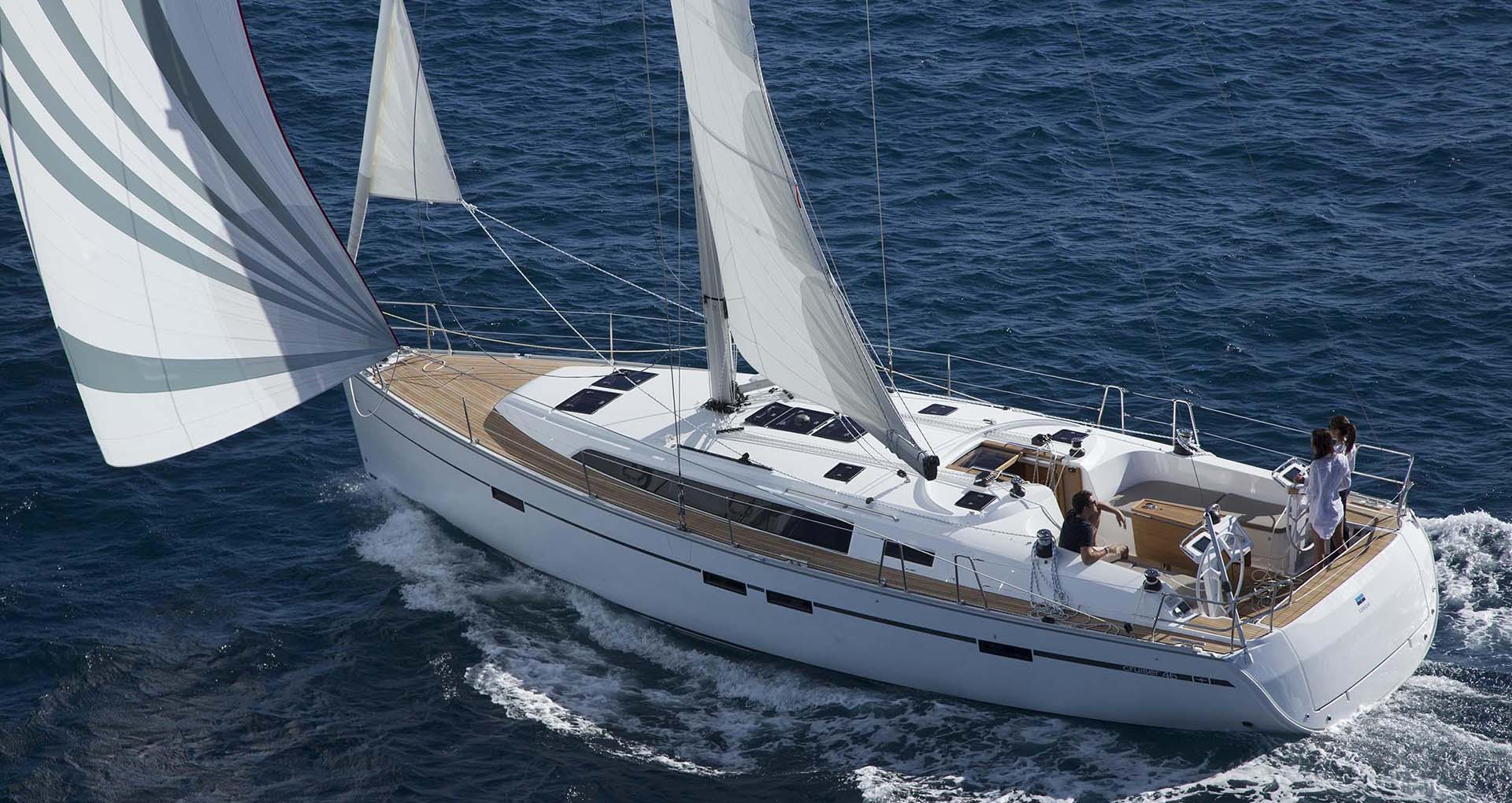 SW7 - Sailing Yacht for Charter in Greece