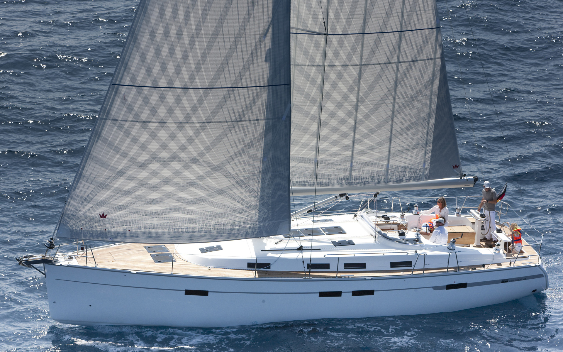 Bavaria Cruiser 56 Class - Sailing Yacht for Charter in Greece