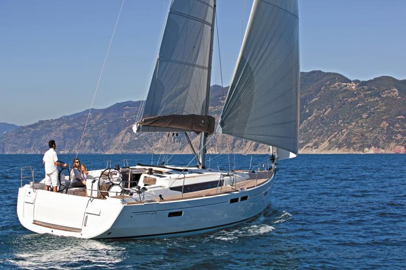 Sun Odyssey 479 Prestige - Sailing Yacht for Charter in Greece