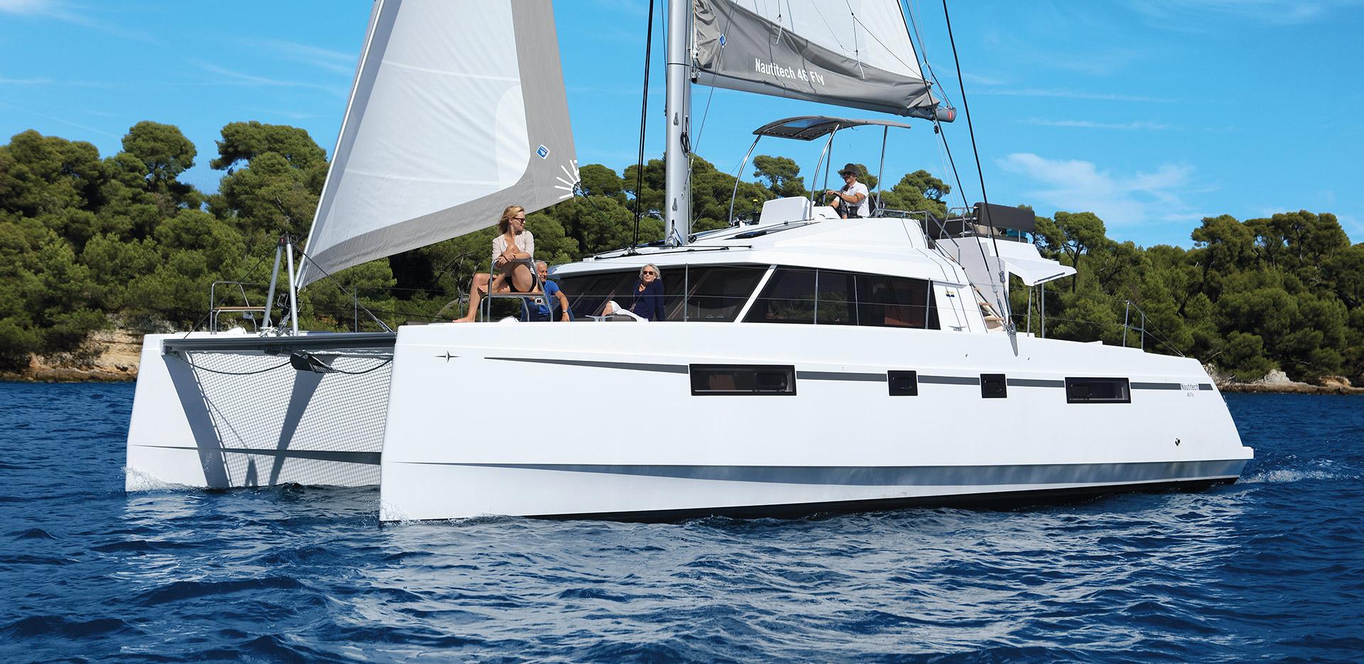 Nautitech 46 Fly Prestige - Catamaran for Charter in Greece