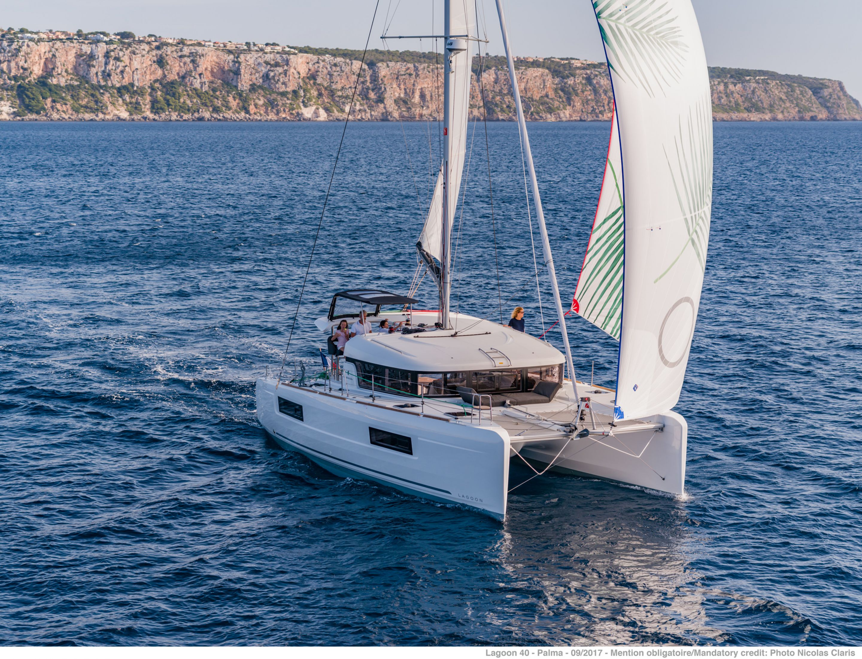Lagoon 40 Prestige - Catamaran for Charter in Greece