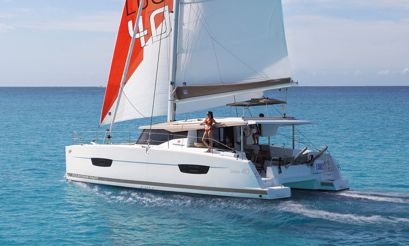 Lucia 40 Maestro Prestige - Catamaran for Charter in Greece