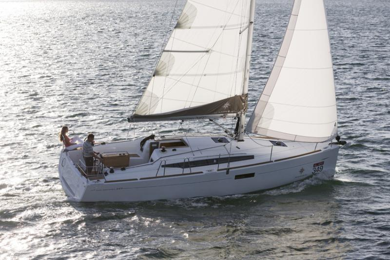 Sun Odyssey 349 Economy - Sailing Yacht for Charter in Greece