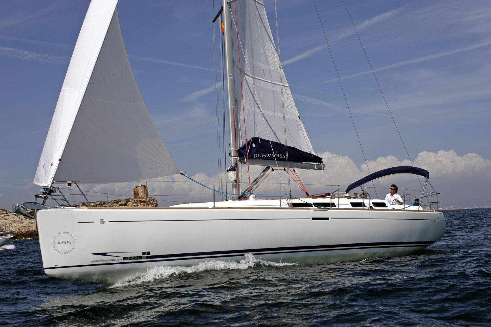 Dufour 455 Economy - Sailing Yacht for Charter in Greece