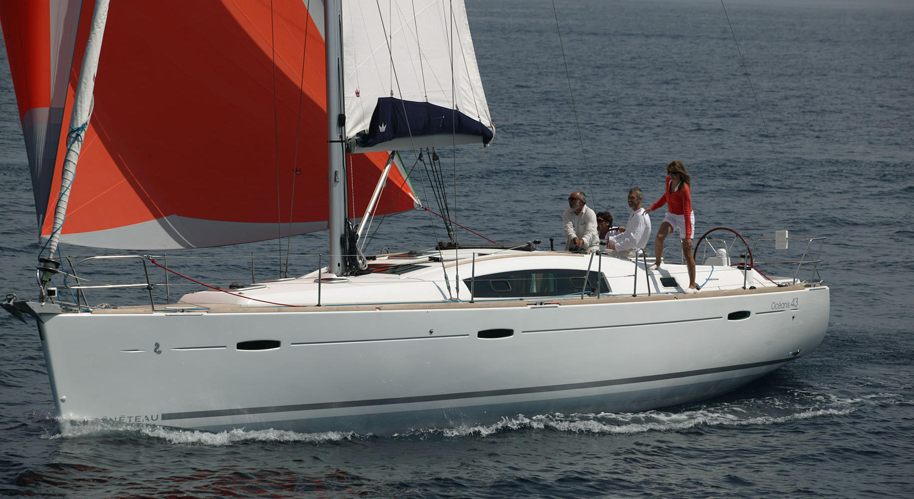Oceanis 43 Economy - Sailing Yacht for Charter in Greece