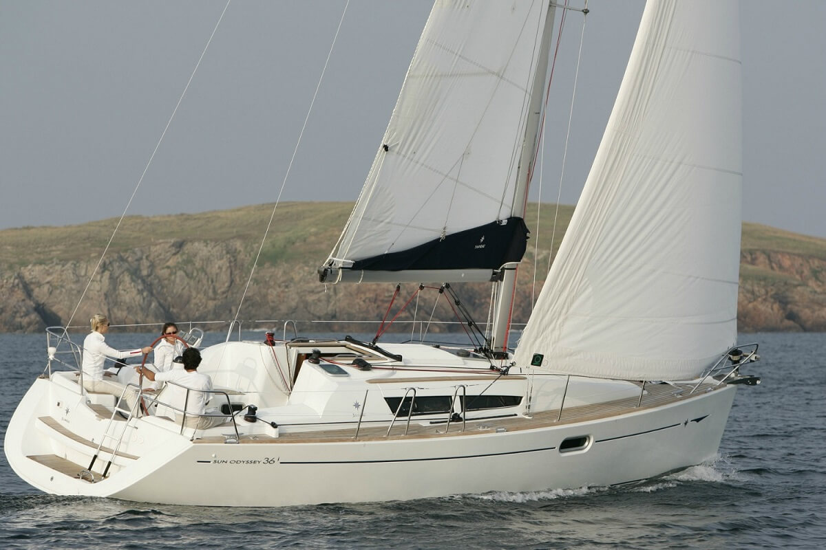 Sun Odyssey 36i Economy - Sailing Yacht for Charter in Greece