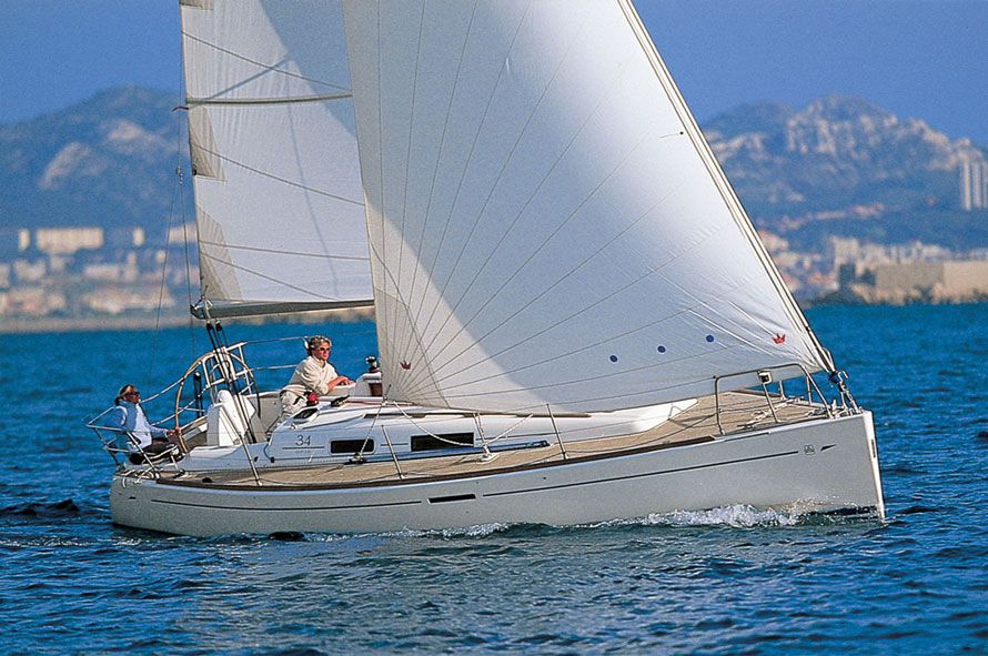 Dufour 34 Economy - Sailing Yacht for Charter in Greece