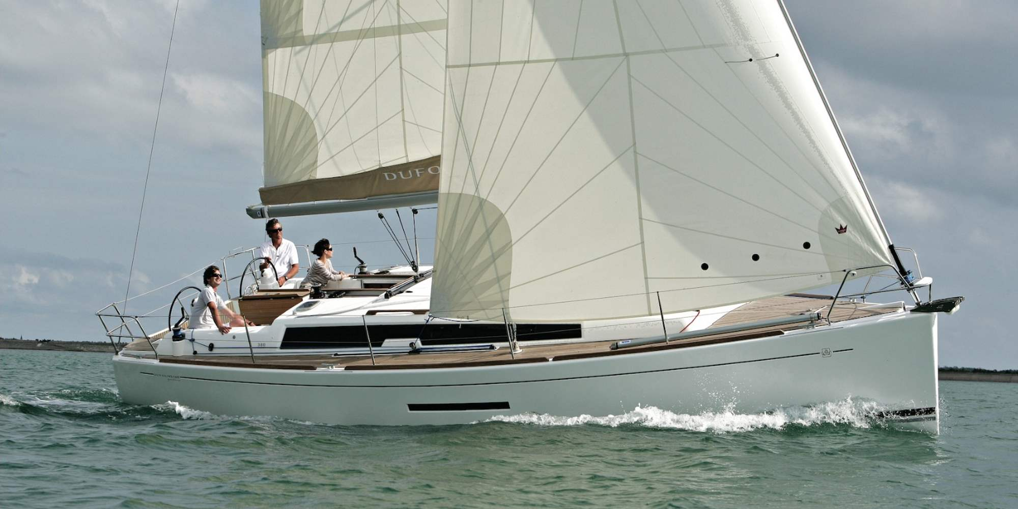 Dufour 380 Class - Sailing Yacht for Charter in Greece
