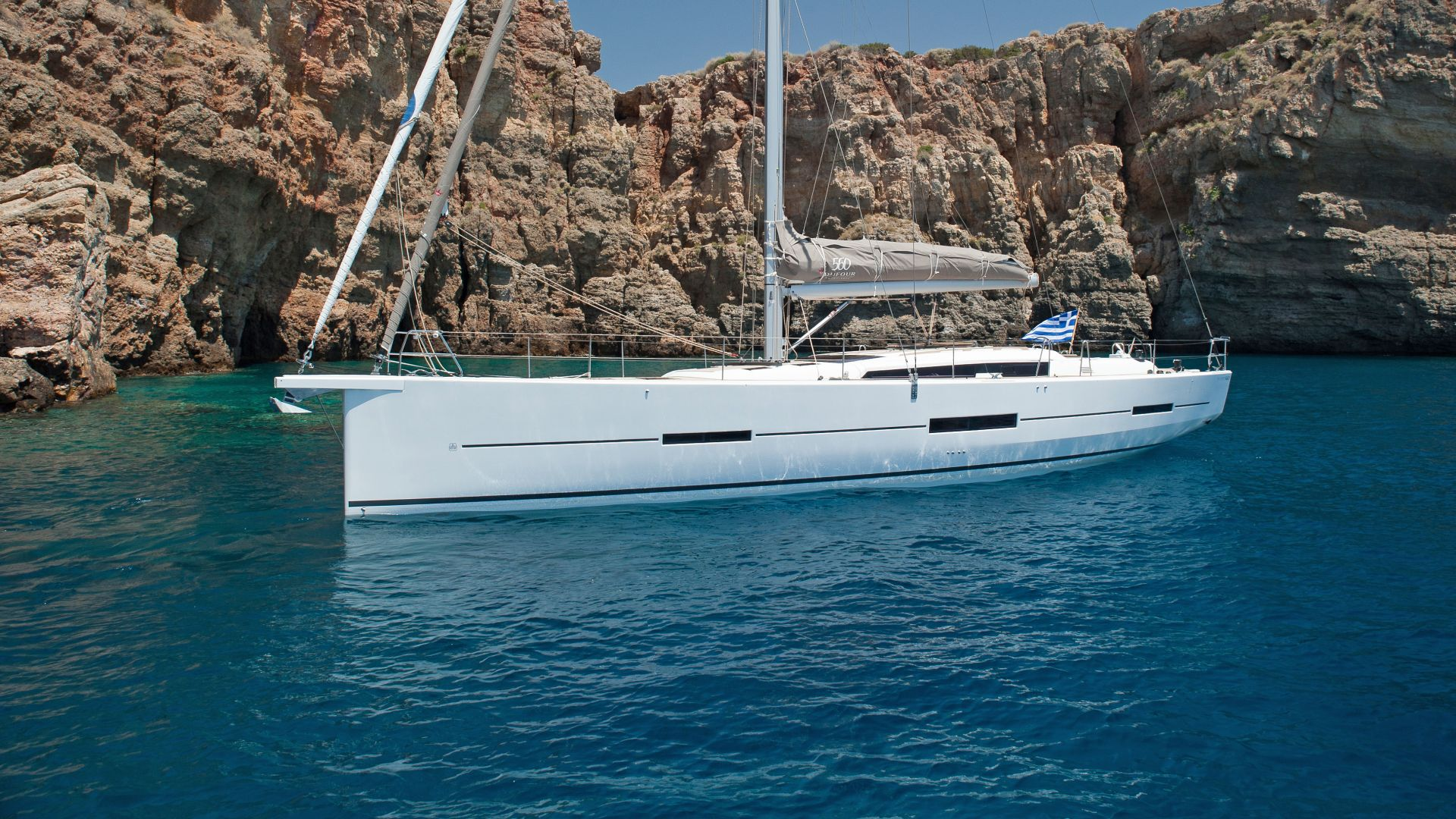 Dufour 560 Class - Sailing Yacht for Charter in Greece