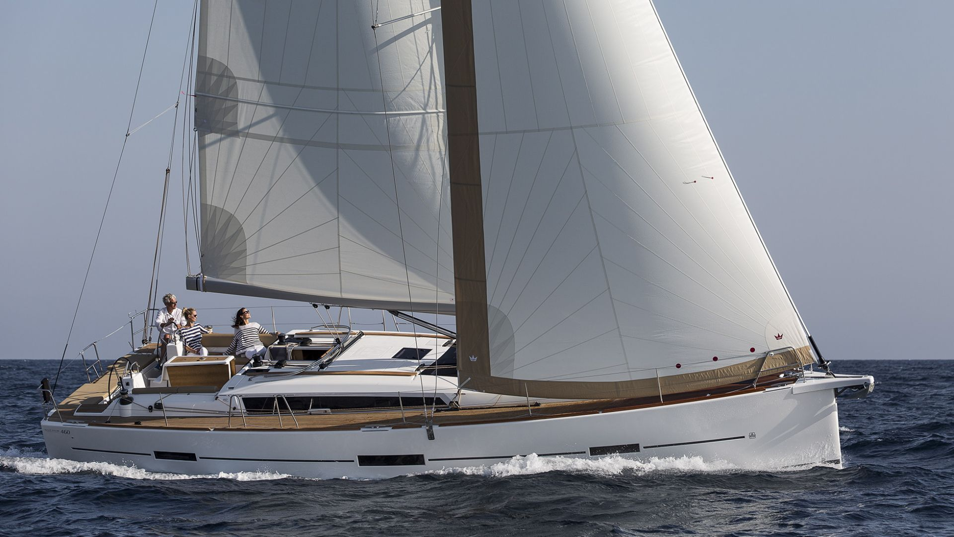 Dufour 460 Prestige - Sailing Yacht for Charter in Greece