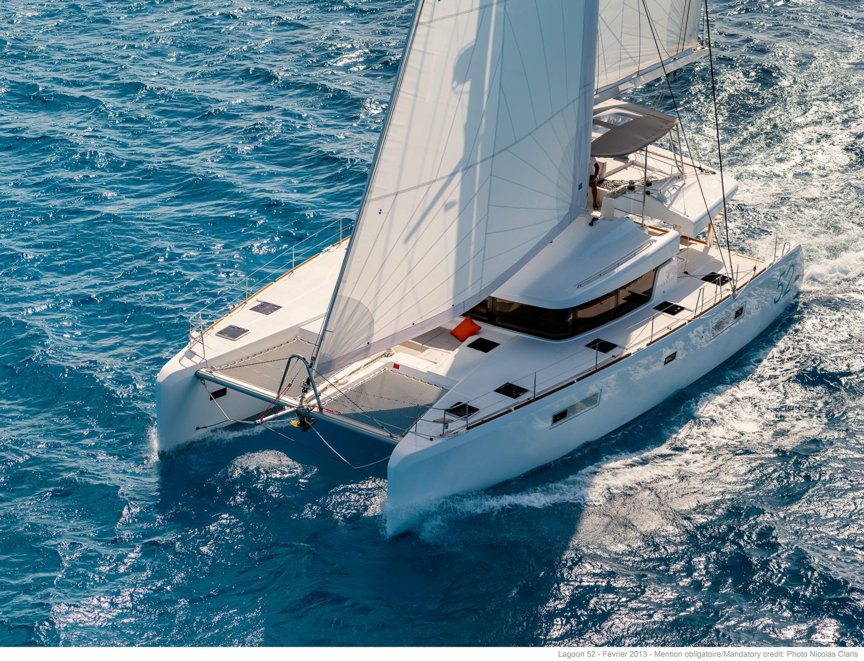 Lagoon 52 Prestige - Catamaran for Charter in Greece