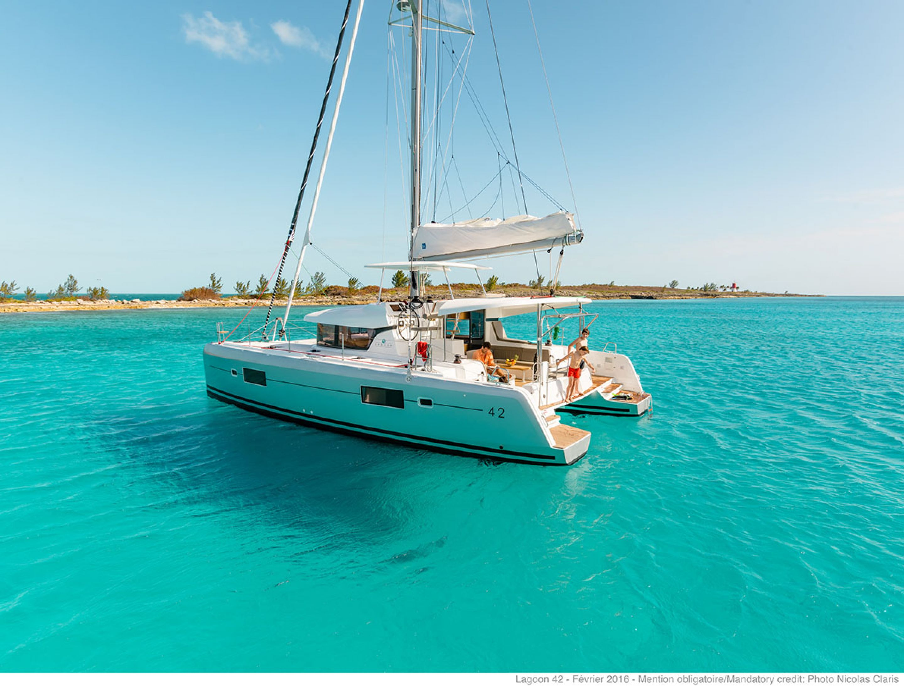 Lagoon 42 (6Cab) - Catamaran for Charter in Greece