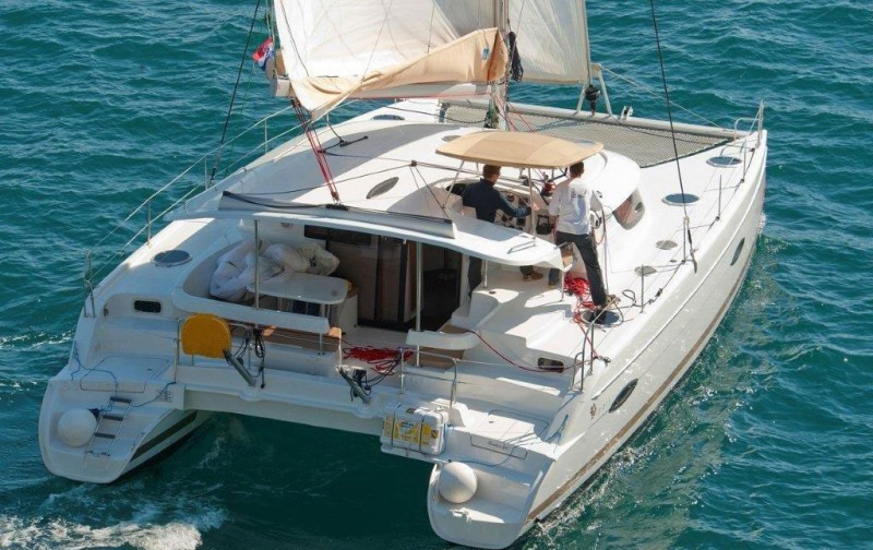 Lipari 41 Class - Catamaran for Charter in Greece