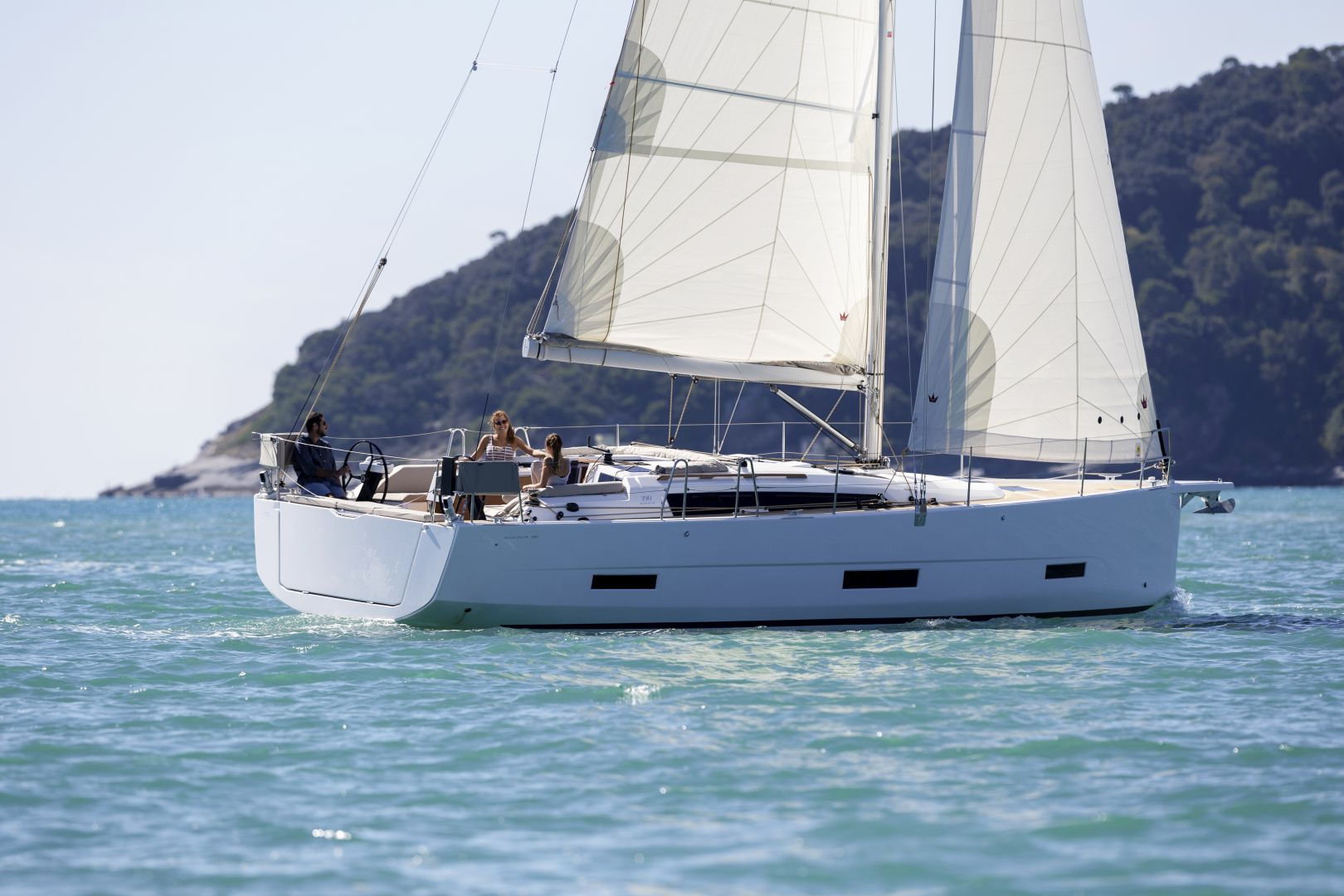 Dufour 390 Prestige - Sailing Yacht for Charter in Greece