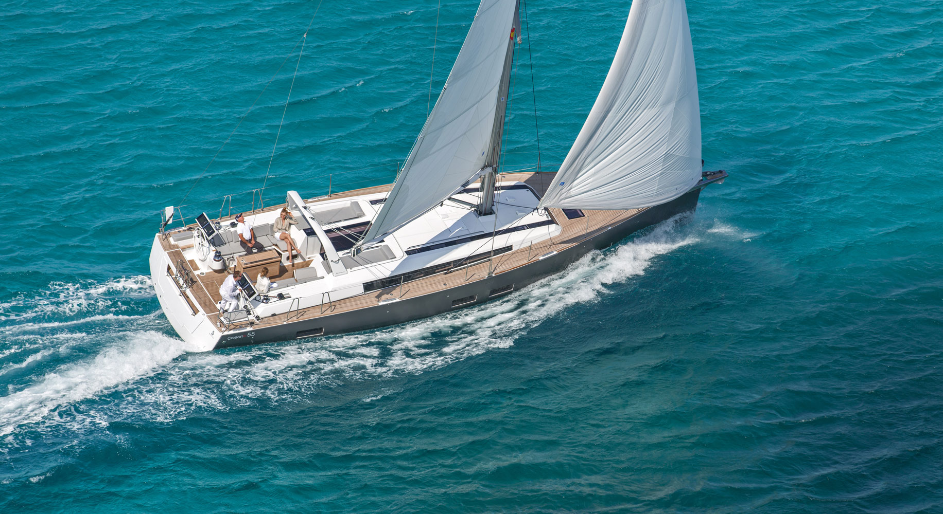 Oceanis 55 Class - Sailing Yacht- Oceanis 55 (5Cab)