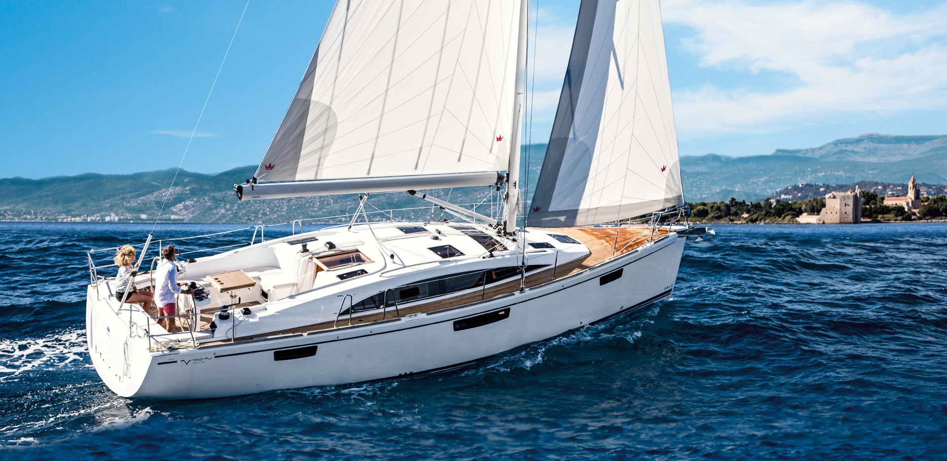Bavaria Vision 42 Class - Sailing Yacht- Bavaria 42 Vision (2Cab)