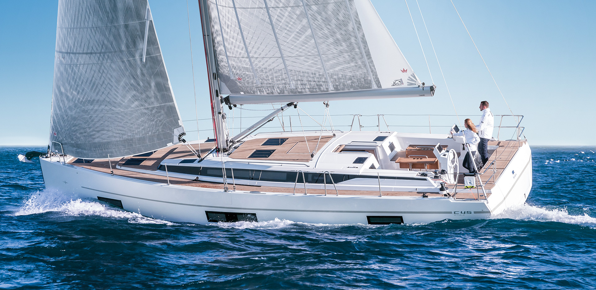 Bavaria C45 Prestige (5Cab) - Sailing Yacht for Charter in Greece