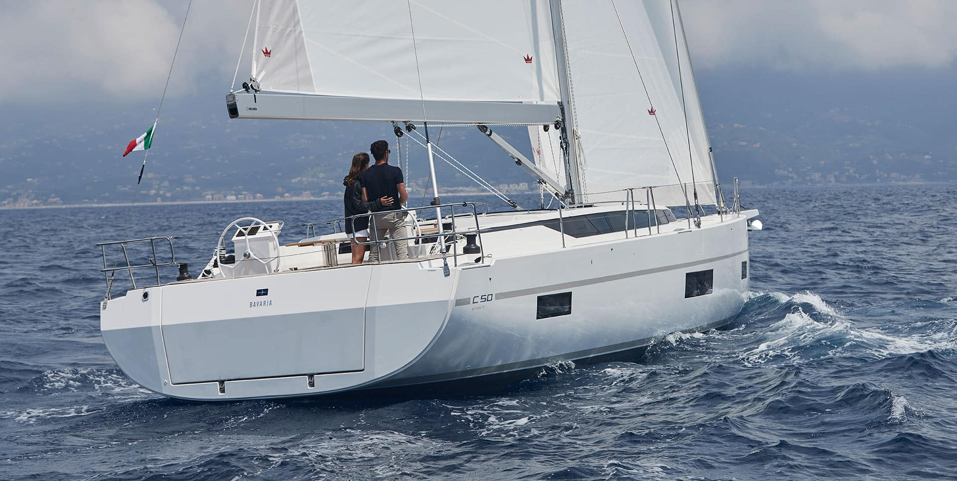 Bavaria C50 Prestige - Sailing Yacht for Charter in Greece