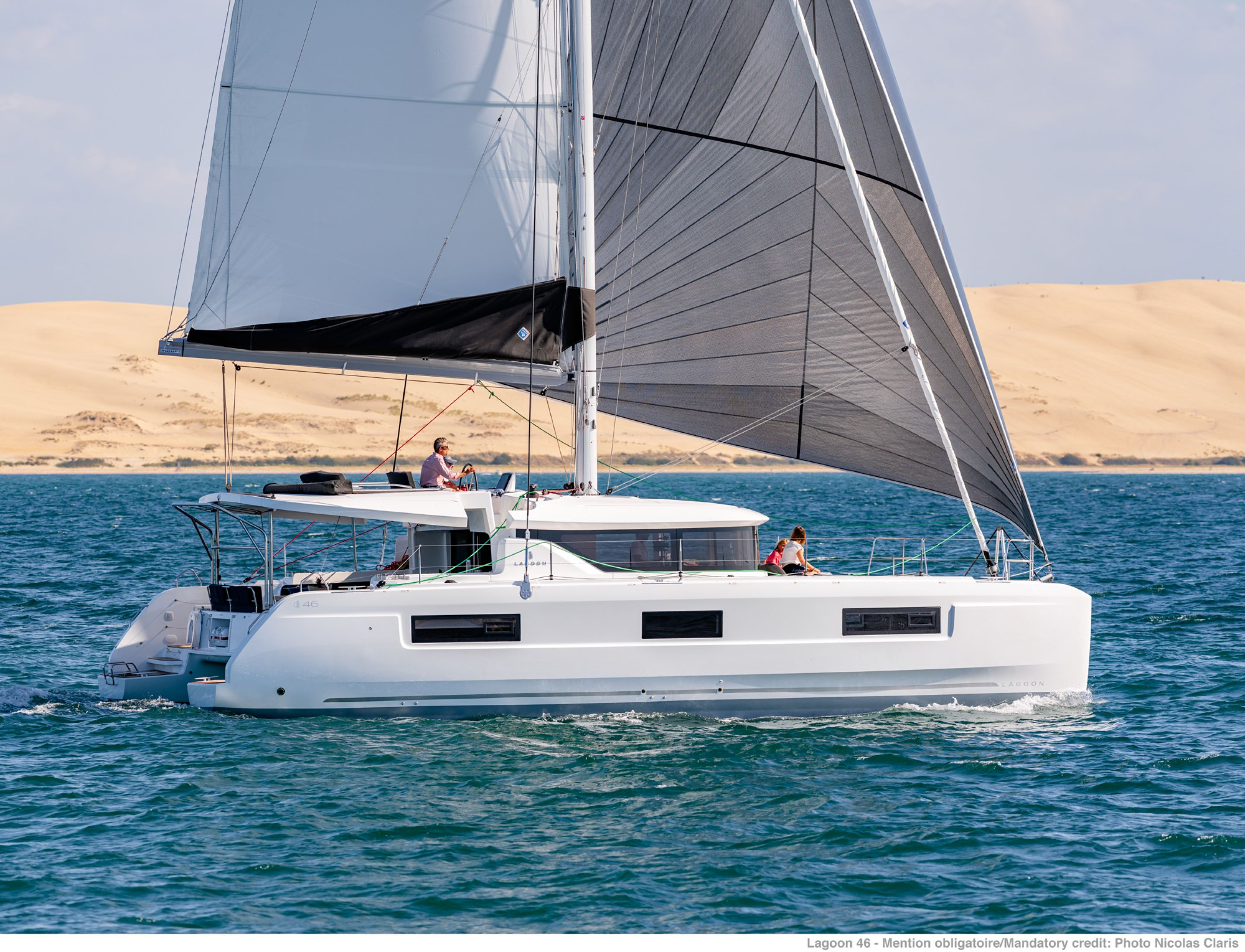 Lagoon 46 Fly Prestige - Catamaran for Charter in Greece