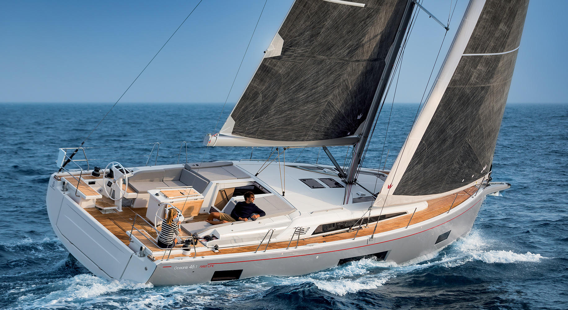 Oceanis 46.1 Prestige (4Cab) - Sailing Yacht for Charter in Greece