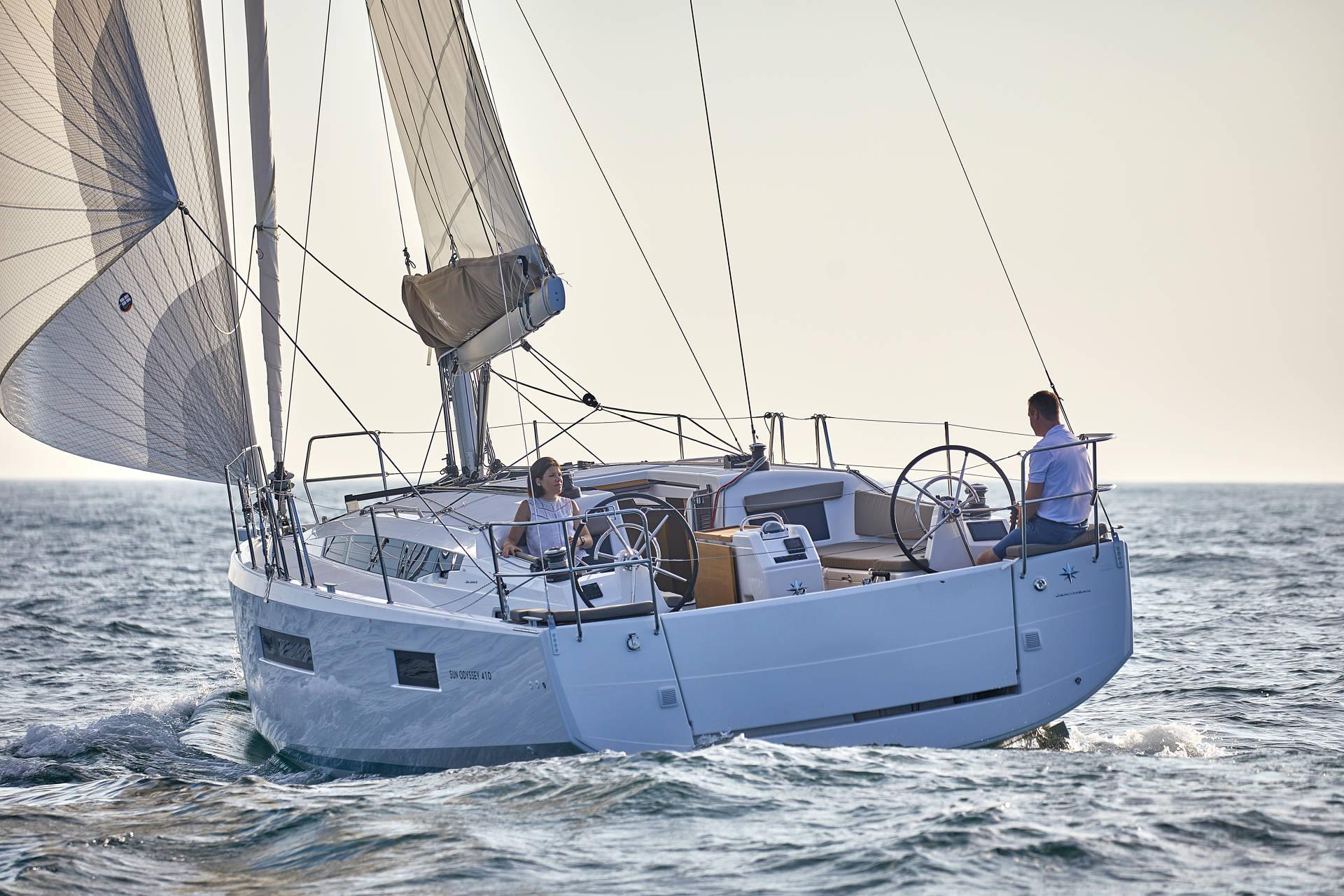Sun Odyssey 410 Prestige - Sailing Yacht for Charter in Greece