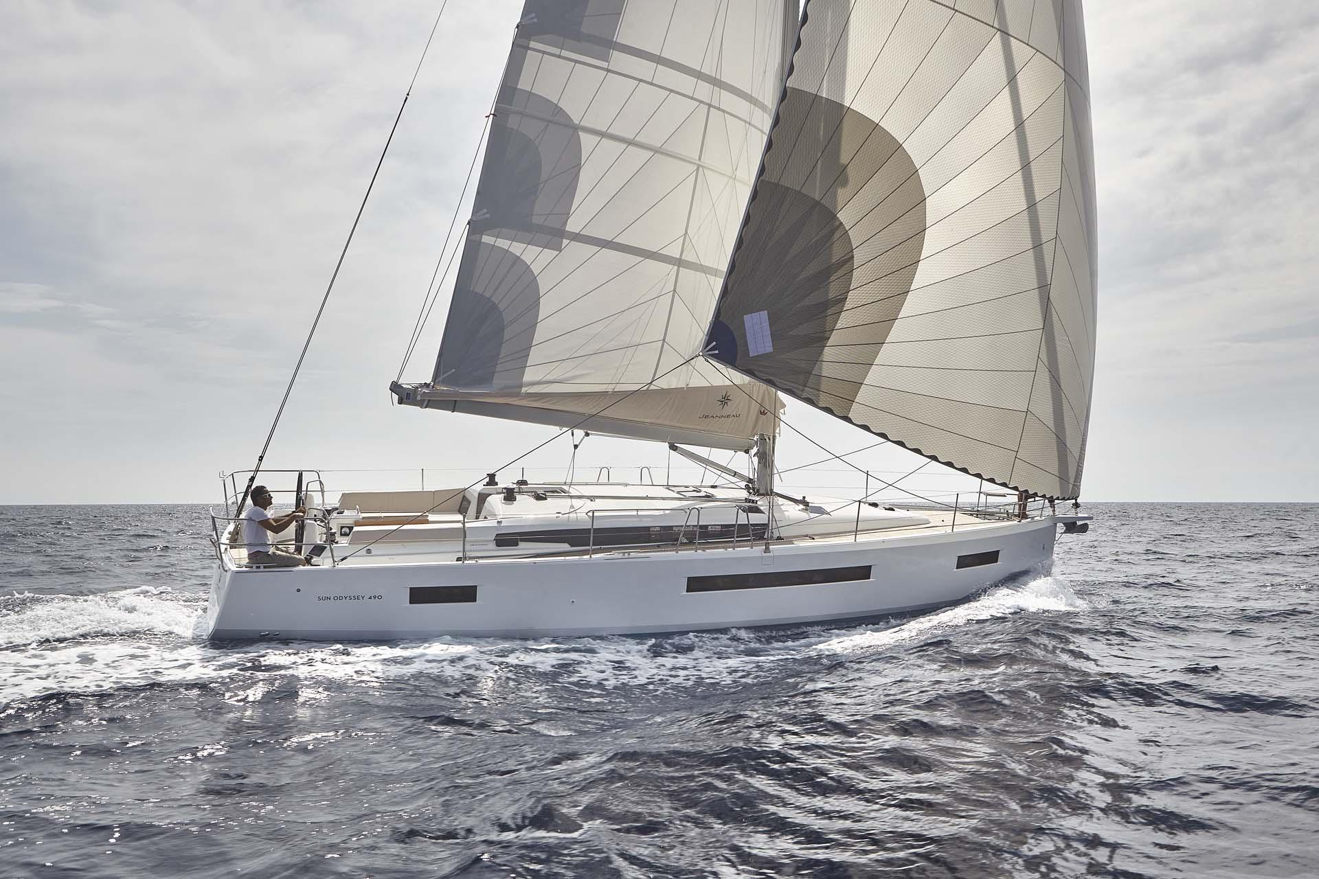 Sun Odyssey 490 Prestige (6Cab) - Sailing Yacht for Charter in Greece