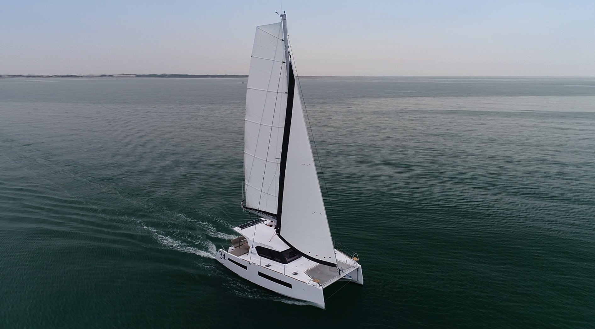 Aventura 34 Prestige - Catamaran for Charter in Greece