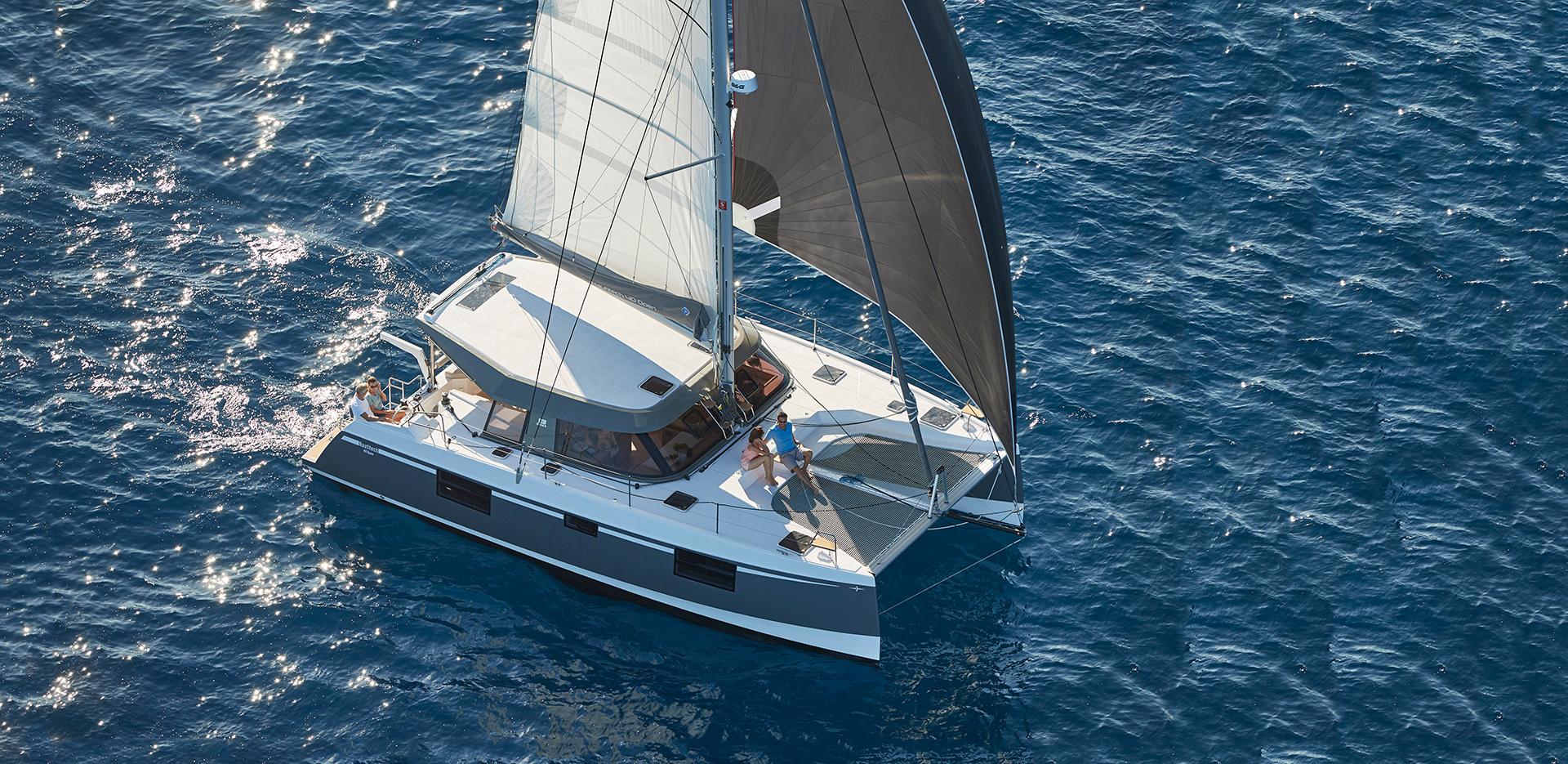 Nautitech 40 Open Prestige - Catamaran for Charter in Greece