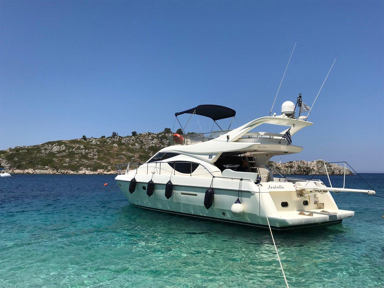Ferretti 46 - Motor Yacht for Charter in Greece