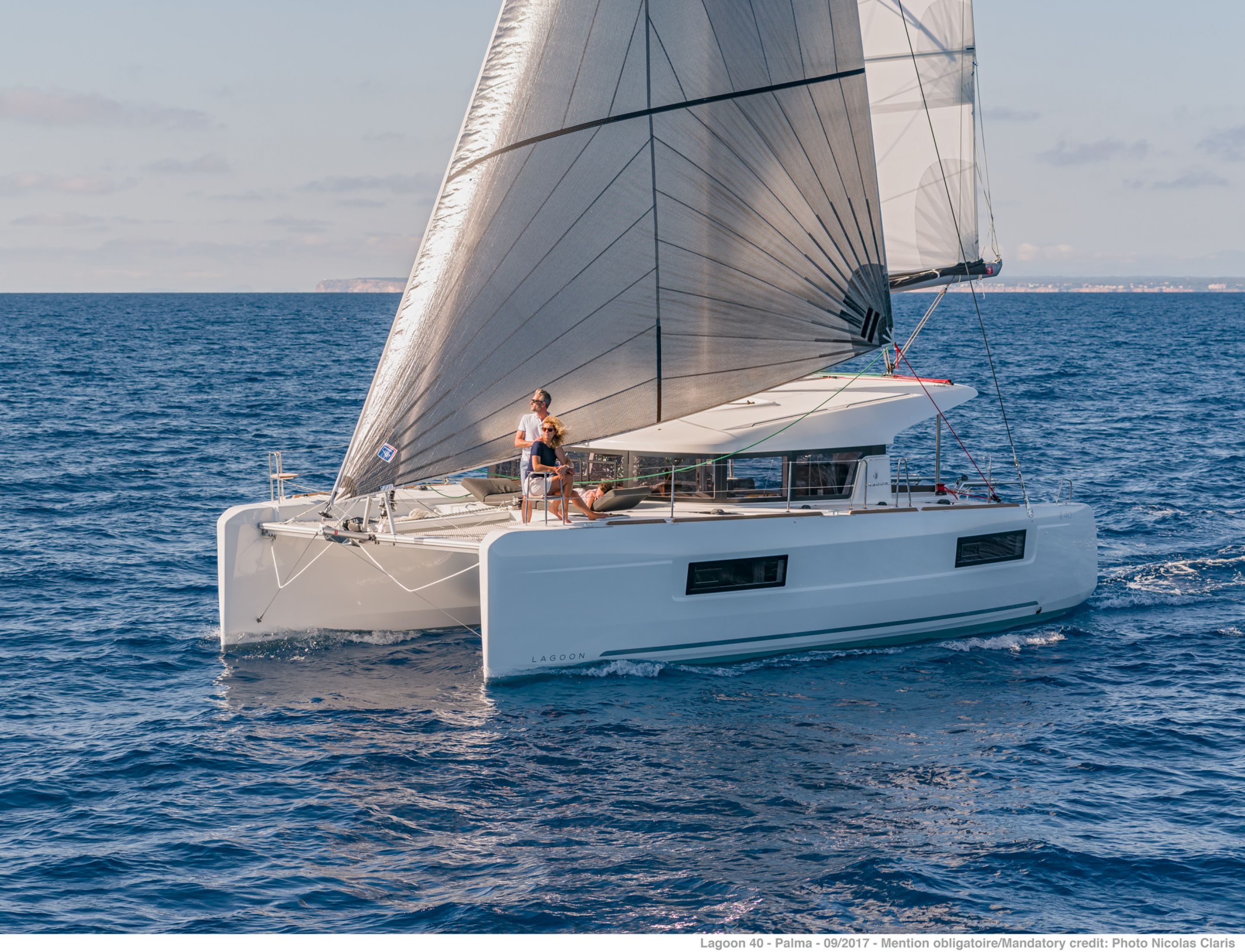 ALL IN  - Catamaran for Charter in Greece