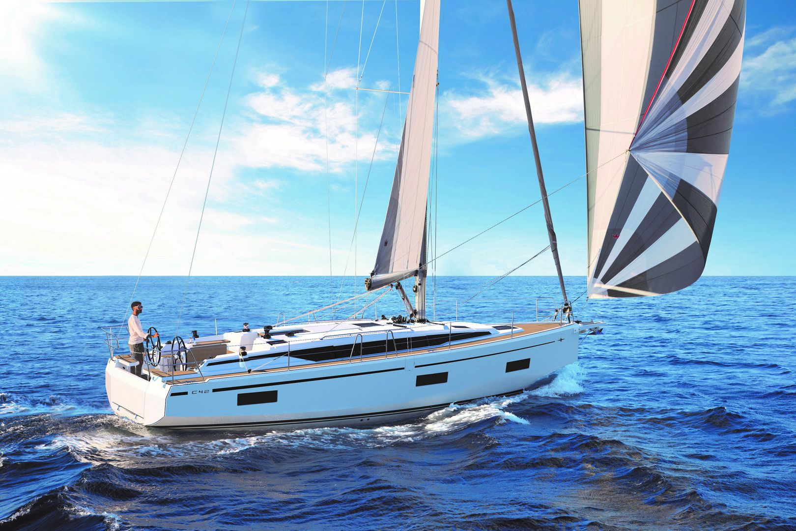 Bavaria C42 Prestige - Sailing Yacht for Charter in Greece